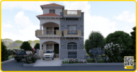 25 x 40 HousePlan | Basement + 2 Floors