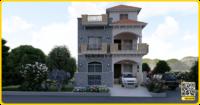 25 x 40 House Plan | Basement + 2 Floors